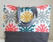 Mayan  XL Extra Large BIG Tote Bag / Beach Bag - Ready to Ship
