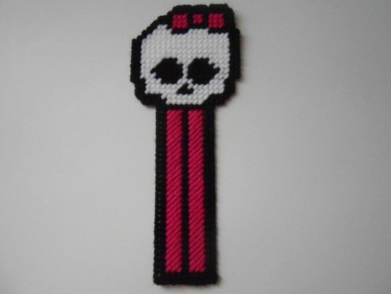 Plastic Canvas Monster High Bookmark by SashaMCrafts on Etsy
