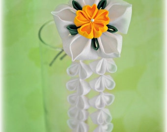 SALE - Graceful Daffodil Hair Stick or Clip