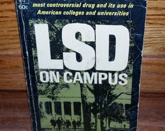 LSD On Campus Vintage Paperback Book