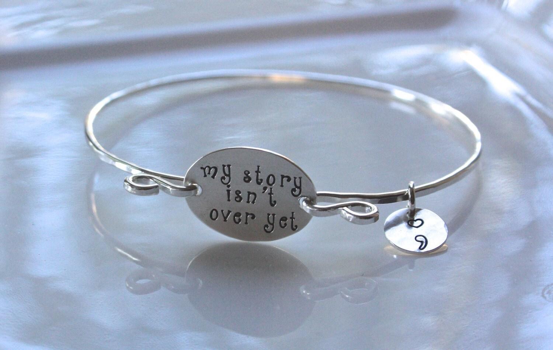 Semicolon Bracelet My Story Isn T Over Yet Jewelry