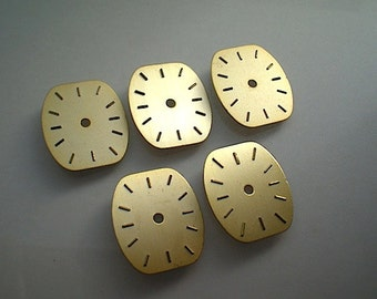 5 Matching vintage watch faces (T5)