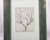 Remains of the Season hand pulled etching
