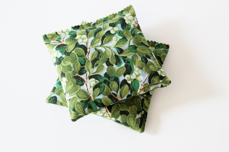 Mistletoe Pillow Sachet Oklahoma State Flower Floral by Gardenmis
