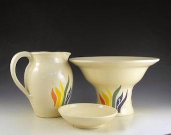 Made to Order UMCRM Ceramic Baptismal Set