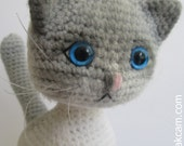 Amigurumi Jointed Cat Pattern