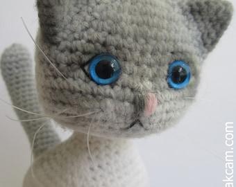 Amigurumi Jointed Cat Pattern