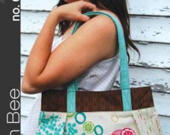 Vera Bag Handbag Sewing Pattern by Green Bee