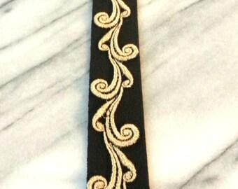 Metallic Belt or Headband / SALE / Lace Belt / Lace Headband / Gold Belt / Metallic belt / Gifts under 25 / Tie Belt / Ready to Ship