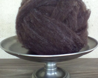 3oz. natural colored Corriedale roving