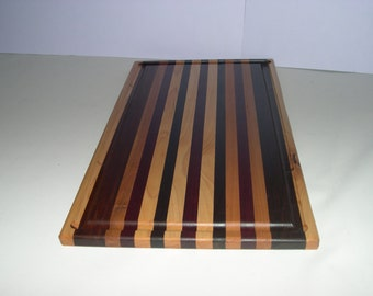 "Cutting Board with Juice Well- 12"" x 16"""