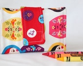 Crayon Wallet - Matryoshka - A Montessori and Waldorf Inspired Travel Toy for Self Guided Art