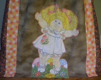 Vintage Cabbage Patch Kids Long Hippie Skirt
