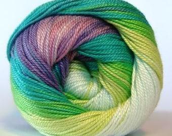 Alize Miss Batik crochet thread size 10. 100% mercerized cotton, #3708