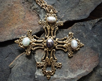 Historical Medieval Cross Necklace