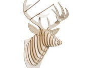 Bucky Large Birch Deer Head