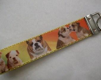 Bulldog Key Wristlet / Fob