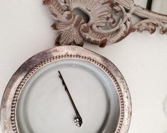 Pretty Silver Plate and Gray Jewelry Dish-Storage