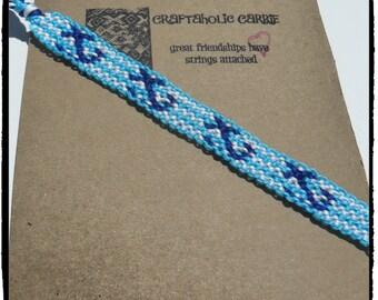 Woven Anchor Friendship Bracelet