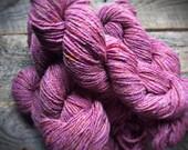 Pink knitting yarn - Nostalgia Rose - Peace Fleece - worsted knitting wool - Georgia Rose - yarn shop