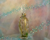 Money Spell, Money Jar, Pagan Decor, Altered Bottle, Glass Art by mystic2awesome