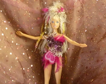 Fantasy Doll, Altered Doll, Embellished Doll by mystic2awesome