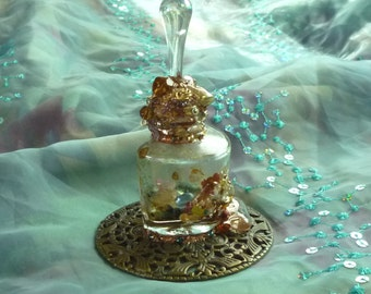 Success Incantation, Altered Bottle, Spell Bottle by mystic2awesome