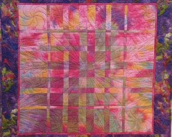 Sale!  Cosmic Cafe Art Quilt