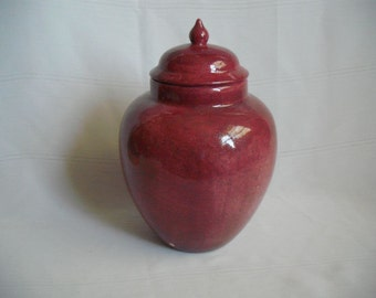 Lg/Med Ceramic Cremation Urn