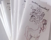 Oodles of Doodles - Zine - Collection of Sketches by Rocky Olivares