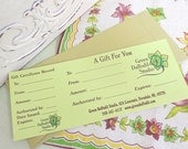 20 Dollar Gift Certicate for Green Daffodil Goodies