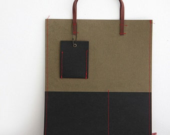 Black Kraft Paper Fabric One Cut, U1062