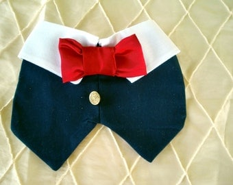 Dogs, Cats, Pets VEST/ Tuxedos/ Wedding bib