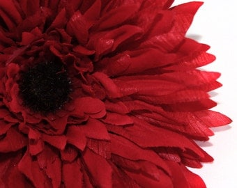 Red Spider Daisy - Artificial Flowers, Silk Flowers