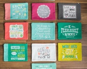 inspirational quote zipper bags 3