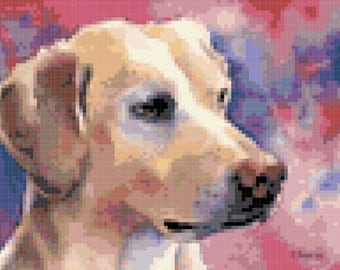 Dog Cross Stitch Pattern ( Printable PDF ) - Immediate Download from Etsy