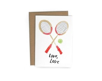Love Love A6 Greeting Card