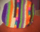multi color slouch hat