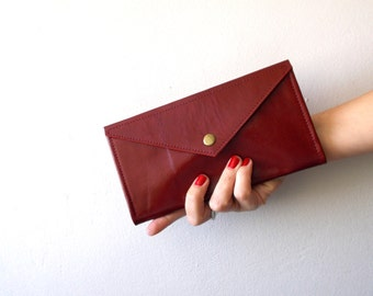 Red Envelope  wallet , leather  women wallet , women purse