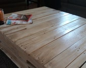 Custom Listing for rawertman Upcycled Pallet Coffee Table