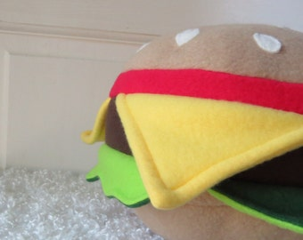 Little Hamburger, Plush Burger, Food Plush