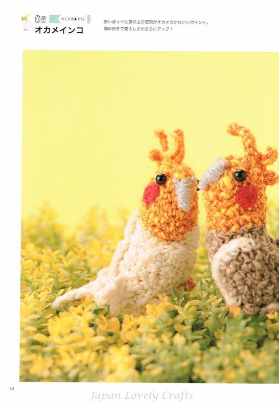 Amigurumi Crochet Japonais : Apprivoiser Perruche patron de poupee Amigurumi japonais au