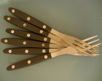 SALE-Six Stainless Steel Forks