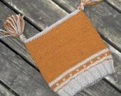 Unisex Pumpkin Spice Tasseled Hat