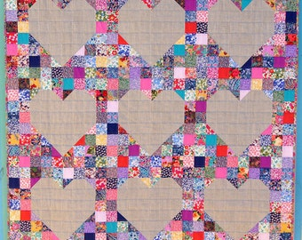 Queen of Hearts Quilt Pattern