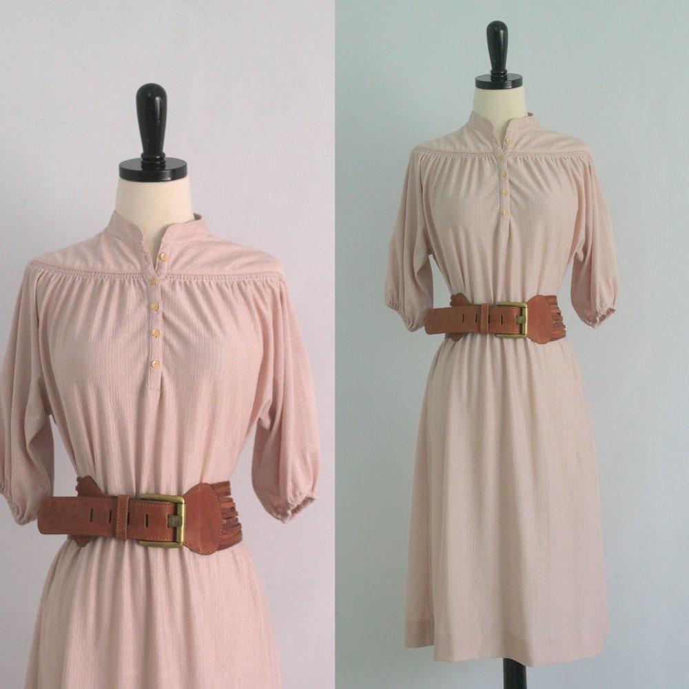 vintage 1970s dress 70s dress boho dress by sassysistervintage