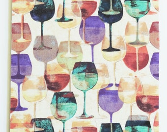 Wine glasses coasters