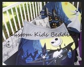 New 7 piece Nightmare Before Christmas JACK baby Crib Bedding Set custom made to order