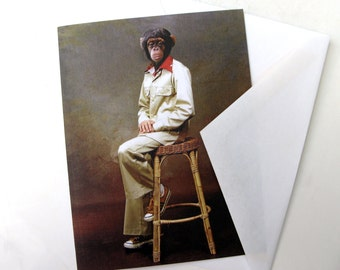 Portrait of Jerry, 1975 - Note Card