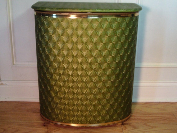 Vintage 1950's/1960's Clothes Hamper By 4TheLoveOfVintage